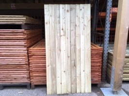 Pressure Treated Feather Edge Gate 6'x3'