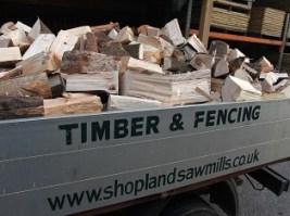 Softwood Firewood Lorry Load