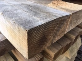 "Oak 8"" x 4"" Sleepers 8'"