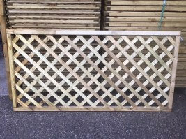Smooth Diamond Trellis 90 x 180